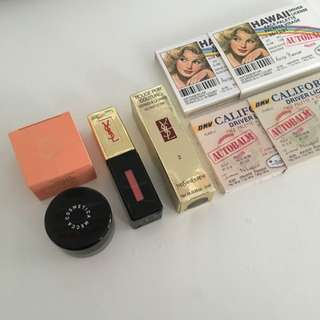 Assorted High End Makeup