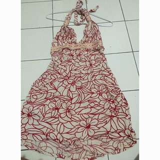 Halter Neck Mini Dress Bali