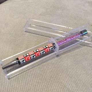 新加坡閃石水晶筆