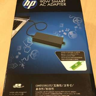 Brand New In Box HP Laptop Charger/ Power Adapter: HP 90w Smart AC Adapter