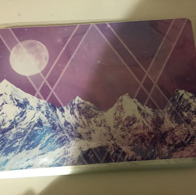 13 Inch Purple Laptop Decal
