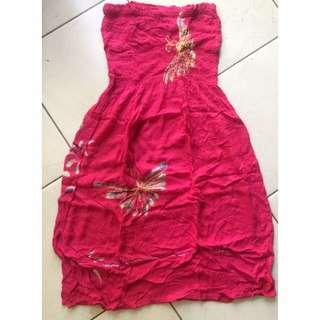 Mini Dress Kemben Bali