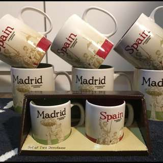 西班牙 馬德里 星巴克 城市杯