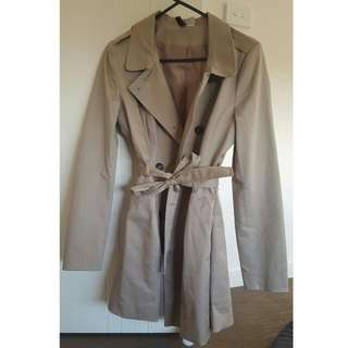 Size 6 Trench Coat From H&M
