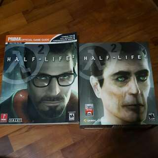 Half-Life 2 Original PC Game And Official Game Guide + Counter Strike Source (Mint)
