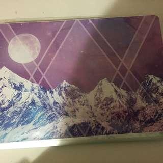 13 Inch Purple Laptop Decal