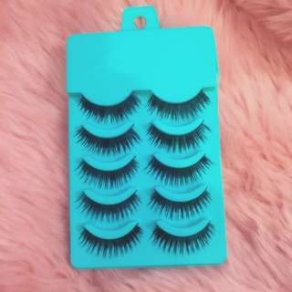 5x Pairs False Lashes