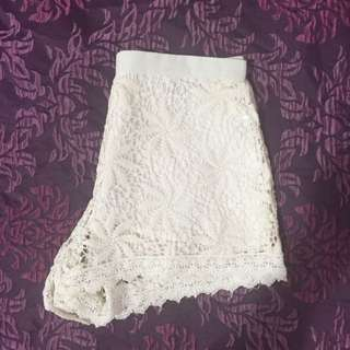 Sabo Skirt Lace Shorts ~