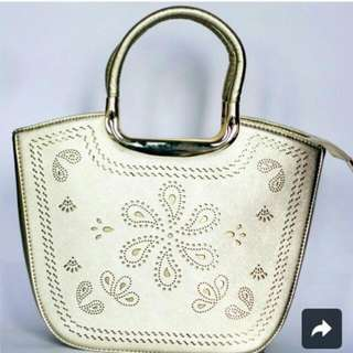 Vintage Flower Hand Bag, IMPORT QUALITY!!!