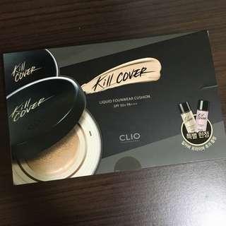 Clio超水感氣墊粉底