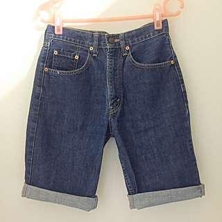 Levi's 牛仔五分短褲