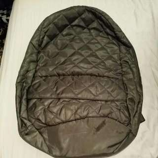 Quilted Parka Army Green Backpack