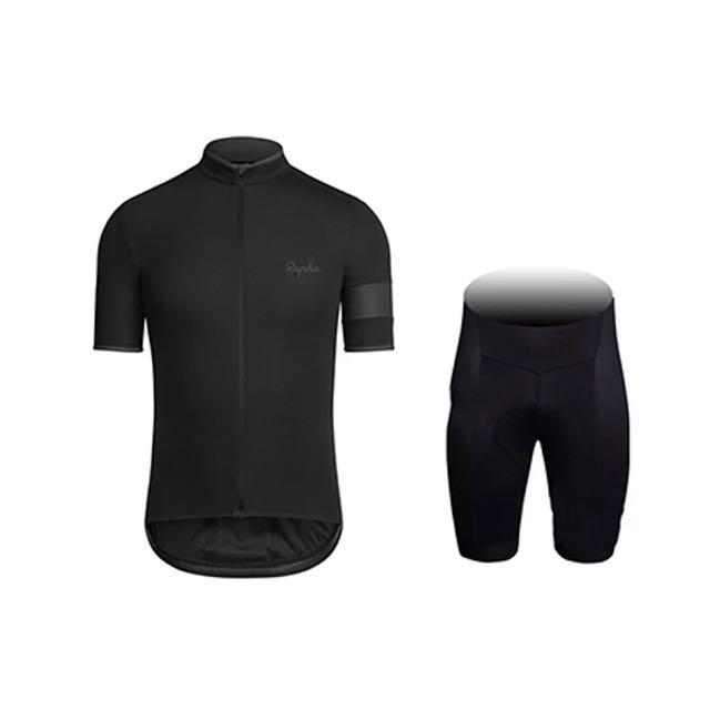 b239f710a 2016 New Rapha Black Cycling Jersey (OEM)