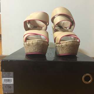 Cork Wedge Size 7