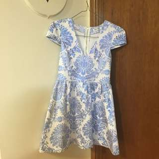 Patterned Dress Size10