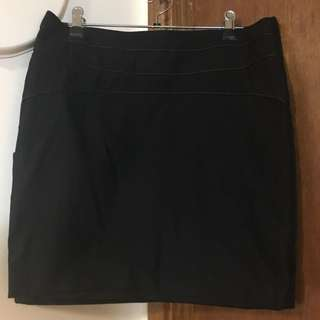 2 Black Skirts Size 10