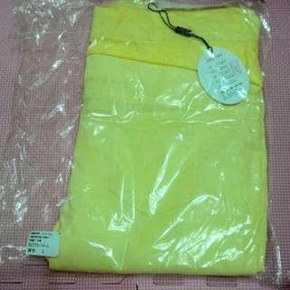 🚚 黃色貼身孕婦褲L號