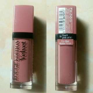 borjouis rouge velvet dont pink of it