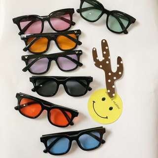 💖預購💖韓國復古時尚潮流百搭個性GD權志龍TOP同款太陽眼鏡/墨鏡 七色可選