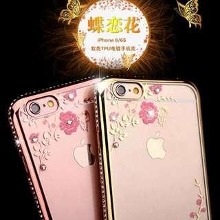 IPhone 6S Plus 奢華水鑽手機邊框