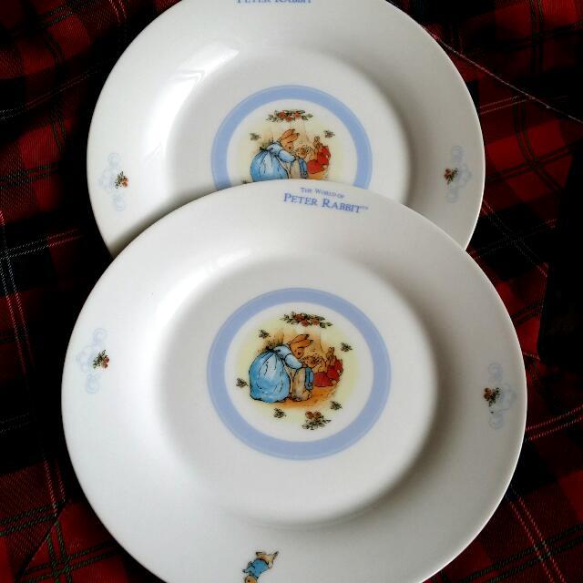 彼得兔盤×2