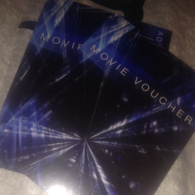2x Adult Movie Vouchers
