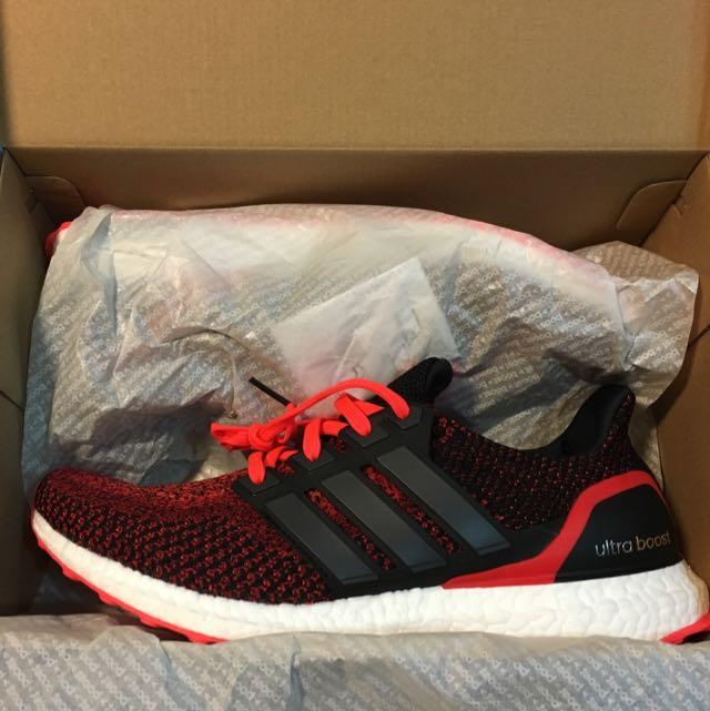 a843c5e2f693f Adidas Ultra Boost  Solar Red  Gradient
