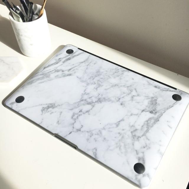 Anti-scratch Marble MacBook Sticker