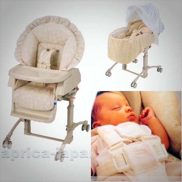 Aprica High Low Bed Chair Astm F 404 89 0 To 48 Months Babies