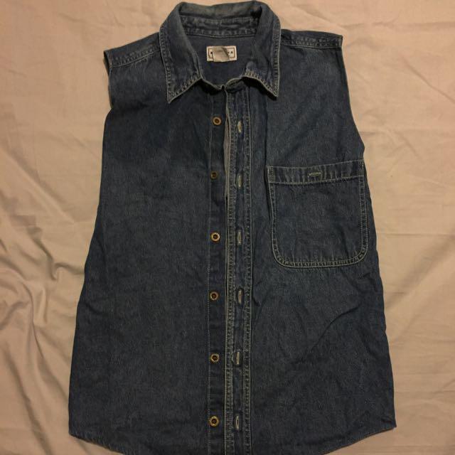Arizona Jean Company Denim Vest One Size
