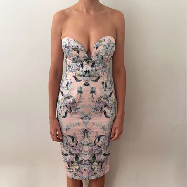 ASOS Strapless Pencil Dress Size 8