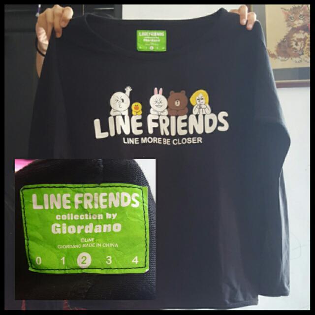 Baju LINE by.giordano Limited Edition