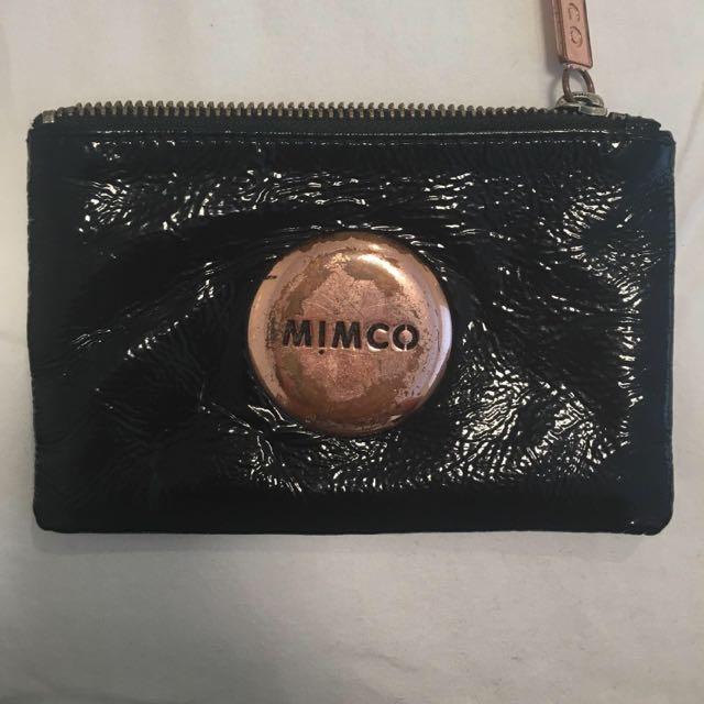 Black MIMCO POUCH