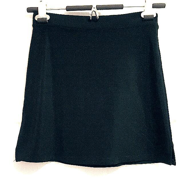 Black Mini Skirt Size Small