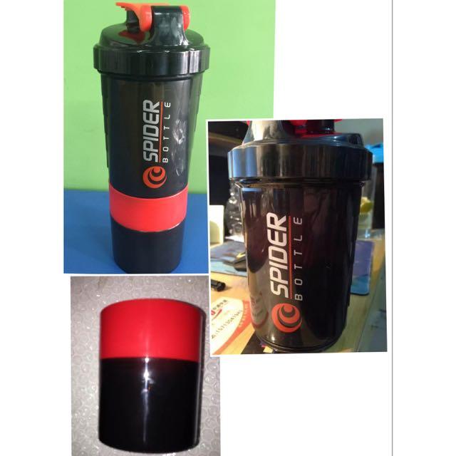 BNIP SpiderMix Spider Shaker Bottle 2GO