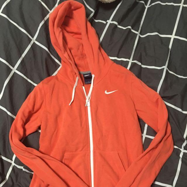 Bright Orange Authentic Nike Jumper