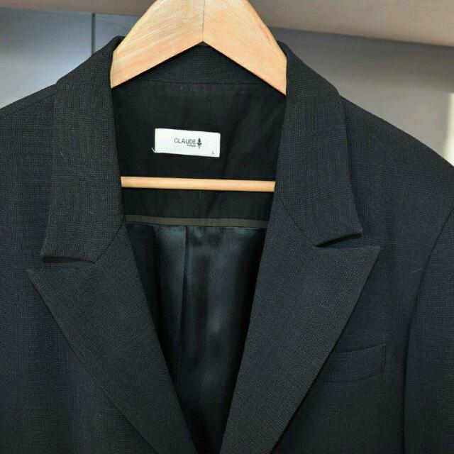 Claude Maus Black Blazer Size L