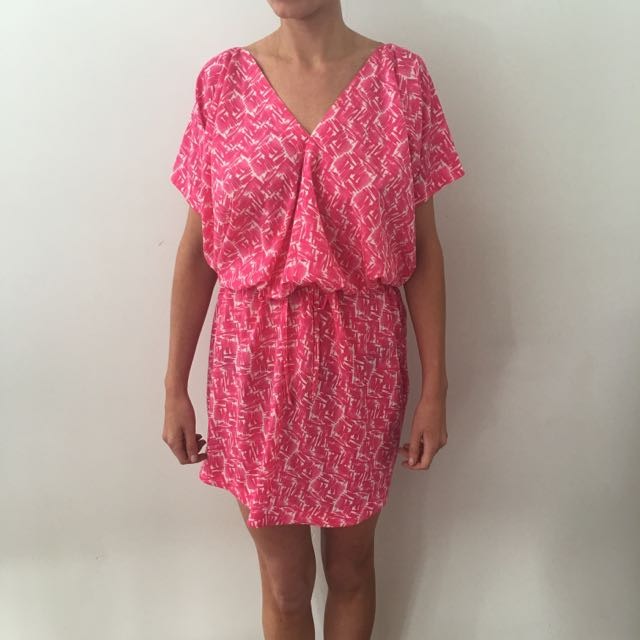 COUNTRY ROAD Pink Loose Fitted Dress