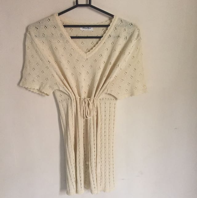 Creamy Knit Outer