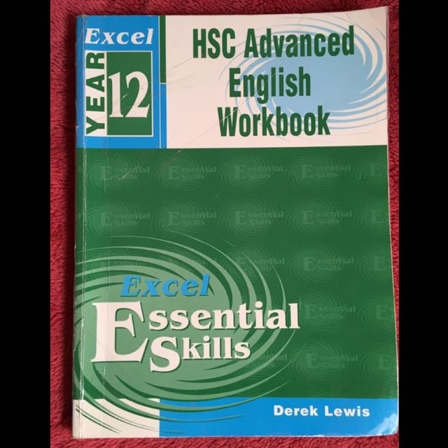 Excel HSC Advanced English Workbook