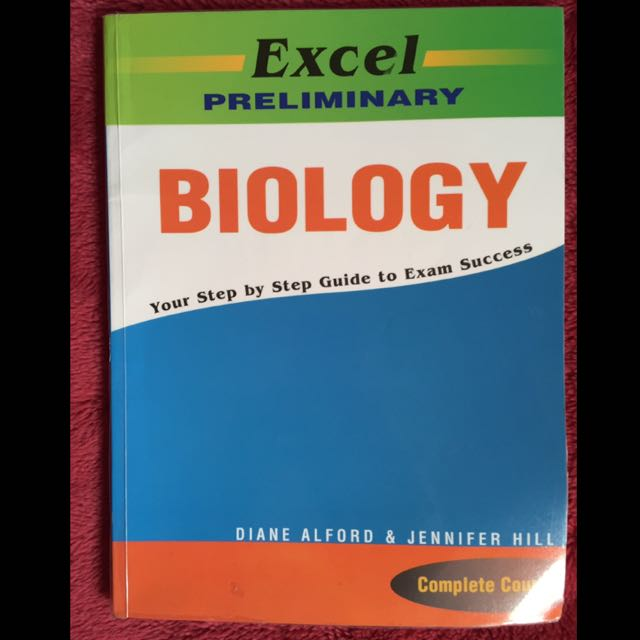 Excel Preliminary Biology