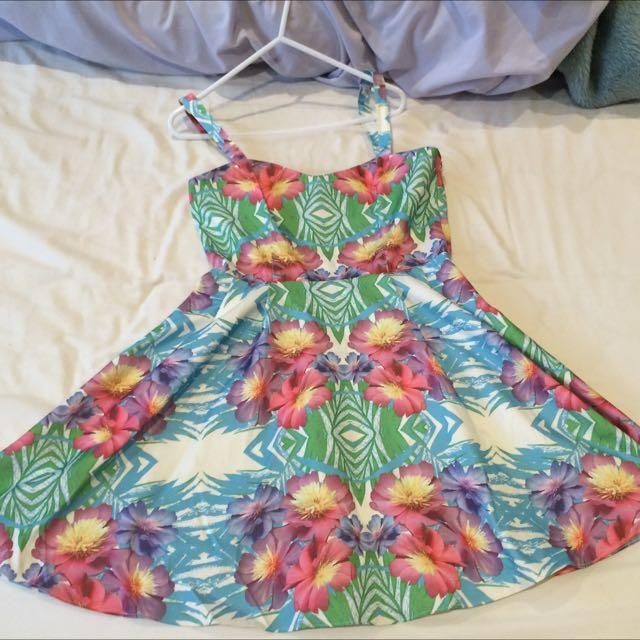 Floral Dotti Dress