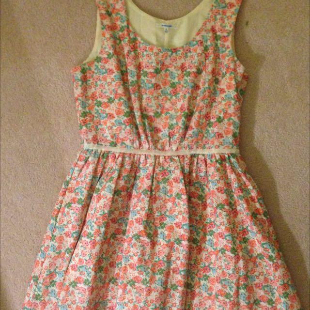 Flower Dress- Valleygirl