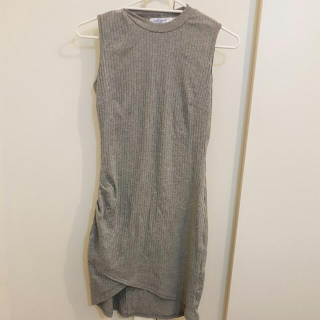 Grey Dress With Tags