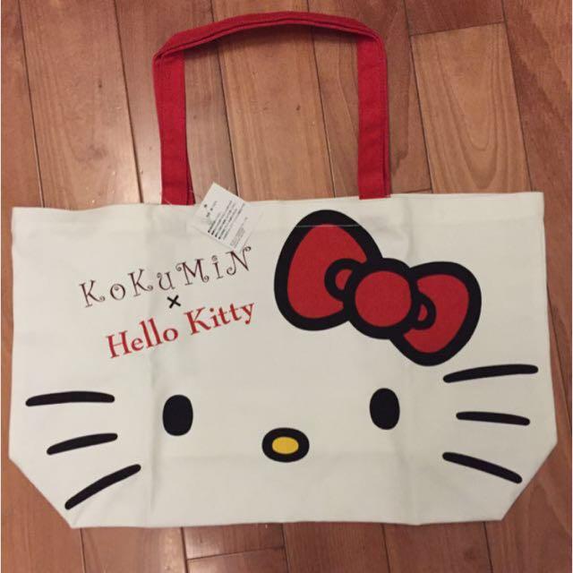 降價!Hello Kitty 布手提袋
