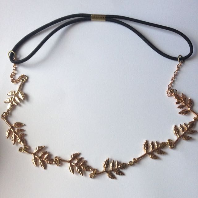 Lovisa - Golden Leaves Head chain
