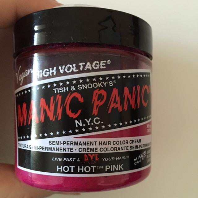 Manic Panic Hair Colour Cream - Hot Hot Pink 118ml