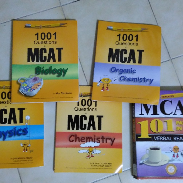 Mcat examkrackers books stationery textbooks on carousell photo photo photo fandeluxe Images