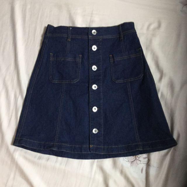 Natural Couture牛仔短裙
