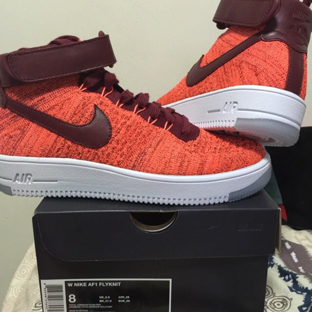 outlet store d0179 363db [Reprice] $280 Limited Ed Nike AF1 FLYKNIT Size 8 Shoe
